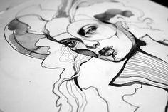 http://abduzeedo.com/stylish-and-unique-artworks-sara-blake