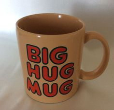 Vintage Big Hug Mug FTD HBO Coffee Cup True Detective Matthew McConaughey #FTD