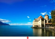 lac Léman, can blue be like this?