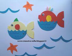 maestra Nella: pesciolini di benvenuto 2