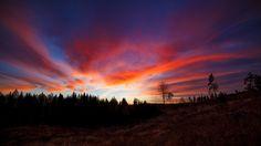 Sunset clouds by JuhaniViitanen.deviantart.com on @DeviantArt