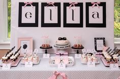 Mary Jane inspired dessert table « SWEET DESIGNS – AMY ATLAS EVENTS