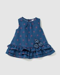 Girls Frock Design, Kids Frocks Design, Baby Frocks Designs, Baby Dress Design, Baby Girl Frocks, Frocks For Girls, Dresses Kids Girl, Kids Outfits, Cotton Frocks For Kids