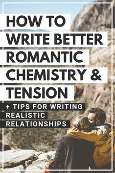 How to write better romantic chemistry and tension. Tips for writing realistic relationships. Creative Writing Tips, Book Writing Tips, Writing Words, Cool Writing, Writing Resources, Writing Help, Writing Skills, Writing Workshop, Writing Process