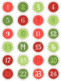 Numbers for Advent calendar cones--- http://www.brother.com/creativecenter/en_us/home/partykit/christmas/index.htm