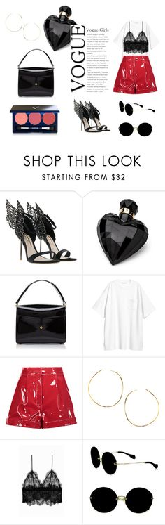 """""""Başlıksız #570"""" by tommy-384 ❤ liked on Polyvore featuring Lipsy, Marc Jacobs, H&M, Valentino, Lana, Anine Bing, Miu Miu and Vapour Organic Beauty"""