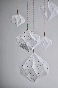 DIY - Un module d'origami diamants                                                                                                                                                                                 Plus