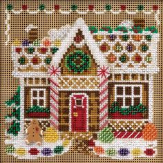 Gingerbread House - Cross Stitch Kit Mill Hill http://www.amazon.com/dp/B003R27FRE/ref=cm_sw_r_pi_dp_8aMsub1GJNWK3