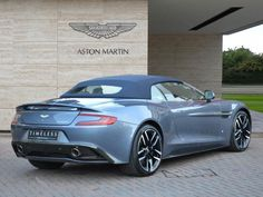One of a kind Aston martin Vanquish Volante AM 73, edition by Q, rarest Aston in the whole world