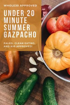 Click here to learn how to make easy paleo gazpacho on Life Lutzurious! Paleo recipes dinner clean eating gluten free. Easy gazpacho recipe summer. Paleo lunch on the go meal prep easy recipes. Easy gazpacho recipe gluten free. Paleo recipes for beginners get started. Paleo recipes lunch meal prep. Paleo recipes easy for beginners clean eating. Gazpacho recipe chunky. Easy gazpacho recipe healthy. Easy gazpacho recipe soups. Easy gazpacho recipe tomatoes. #veggies #health #paleo Dairy Free Recipes Easy, Gluten Free, Healthy Recipes, Paleo Dinner, Recipes Dinner, Easy Weeknight Dinners, Easy Meals, Gazpacho Recipe, Large Family Meals
