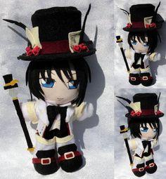 Art Trade, Mini Plushie Blood Dupre by ThePlushieLady on DeviantArt Nerd Crafts, Diy Crafts, Anime Diys, Plushies, Otaku, Alice, Geek Stuff, Hearts, Deviantart