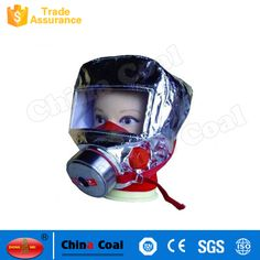 Filter type fire fighting self rescue breathing apparatus Protection time Inspiratory resistance Expiratory resistance Oil mist transmission coefficient Inspiratory temperature Gas Mask For Sale, Fire Escape, Mining Equipment, Coal Mining, Locomotive, Firefighter, Baby Car Seats, Gas Masks, China