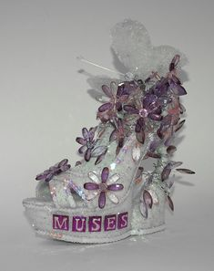 Krewe of Muses 2017 Muses Shoes, Wine Bottle Crafts, Shoe Art, Jewelry Accessories, Cute, Decor, Jewelry Findings, Decoration, Kawaii