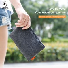 Baseus Phone Pouch For iPhone Samsung Xiaomi Cloth Fabric Storage Package Handbag Mobile Phone Bag Case. Click visit to buy