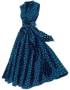 LC Georgina's Sunset Polka Dot Dress available at JPeterman.com.