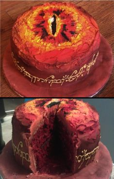 I want to make this on my next birthday! Then eat it while watching one of the LOTR movies with my friends. ^_^ (I must start planning this!)