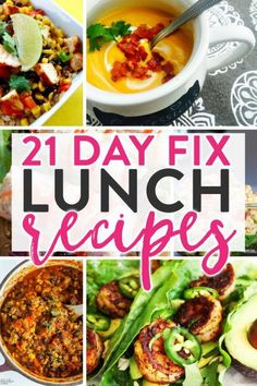 21 Day Fix lunch recipes. Looking for healthy lunch ideas? Check out these fix approved meals that will help your healthy lifestyle.