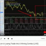 How To Turn A Losing Trade Into A Winner And Then Add Another Winning Trade To It  (LIVE)