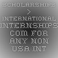 #MoneyMonday Scholarships > International-Internships.com For any non-USA internship.  #generationstudyabroad