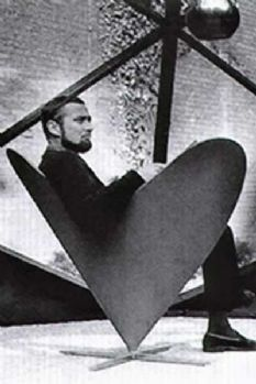 Heart Cone Chair by Verner Panton Designed in 1959 - Vitra
