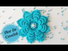 Machine learning meets trending news, viral videos, funny gifs, and so much more. Love Crochet, Crochet Motif, Crochet Flowers, Crochet Patterns, Flower Video, Crochet Videos, Flower Patterns, Crochet Projects, Free Pattern