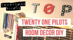 TWENTY ONE PILOTS ROOM DECOR DIY
