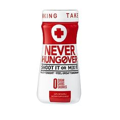 Never Hungover® Supplement