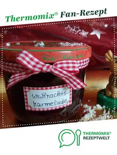 Christmas Jam - Christmas jam from landhaus-team. A Thermomix ® recipe from the Sauces / Dips / Spreads category w - Dessert Dips, Potluck Desserts, Summer Dessert Recipes, Dessert Cake Recipes, Desserts For A Crowd, Fancy Desserts, Cool Whip Desserts, Easy Strawberry Desserts, Christmas Jam
