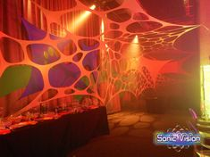 Sonic Vision is a decor company that manufactures, sells and hires Stretch Decor, Stretch Sets, Stretch Tents, Party Decor and Lighting. Decor for hire or sale! We are the Stretch Decor Manufacturer. Fabric Decor, Event Decor, Stretch Fabric, Stretches, Tent, Neon Signs, Store, Tents