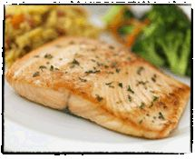 Grilled Salmon with Garlic and Herbs