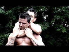 KRAV MAGA TRAINING • How to escape the Rear Naked Choke - YouTube