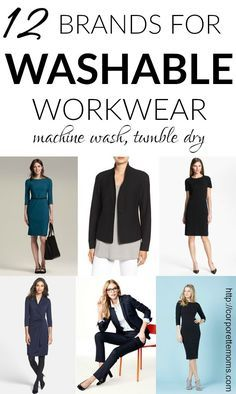 962e3471099 On the hunt for washable workwear? (Or, just looking for workwear that's  easycare?) We rounded up 12 brands that one can reliably look to for  washable work ...