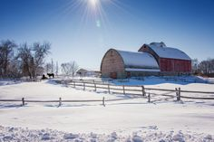 Winter Sunshine by Toni Kahnke on Capture Minnesota // It is the life of the crystal, the architect of the flake, the fire of the frost, the soul of the sunbeam. This crisp winter air is full of it. ~John Burroughs