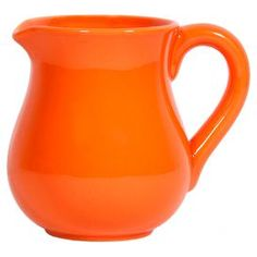 Canyon Pitcher in Orange