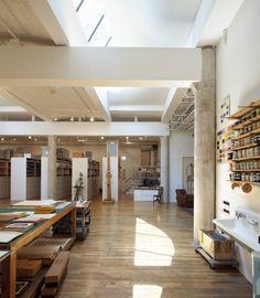 west-village-green-roof/ Roy Lichtenstein studio/Caliper Architecture