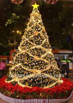 Arboles de navidad decorados con mallas - Imagui www.imagui.com los arboles de navidad mas bellos del mundo - Buscar con Google