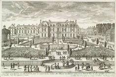 Michel Le Tellier puis son fils Louvois, ont acquis et embelli les chateaux de Chaville (ici) puis de Meudon, constituant ainsi un exceptionnel domaine
