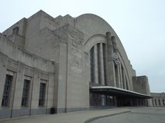 "Union Terminal - AKA -  ""Hall Of Justice"" Cincinnati Ohio"