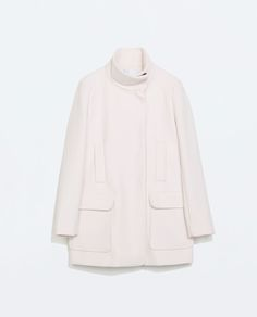 Image 7 of STRAIGHT CUT COAT from Zara