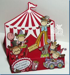 Life Is A Circus …. It's A Riley Blog Hop!