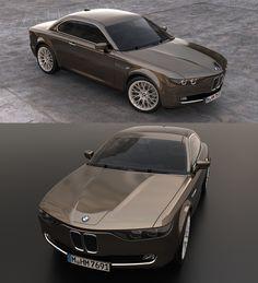 Stunning BMW CS Vintage Concept Tribute Shows Old 1960s Design Still Works Today
