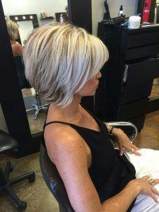 Inverted Bob Haircuts For Fine Hair - Hair Beauty 2015 Hairstyles, Short Bob Hairstyles, Pretty Hairstyles, Bob Haircuts, Short Choppy Haircuts, Modern Hairstyles, Short Hair Cuts, Short Hair Styles, Short Blond Hair