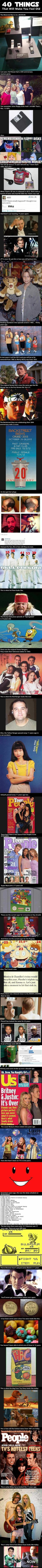 40 things that will make you feel old - HOLY SHIT - friends kids ages! :/