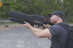 Así funciona DroneGun, el rifle mata-drones (Video)