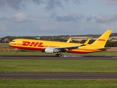 DHL Aviation UK, Boeing 767-300ERF freighter