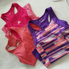2 Work out tops! 2Work out tops! Great Deal these are in great condition adidas top i never had it on. Adidas Tops Tank Tops