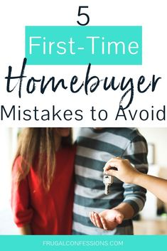 We want to be first time home buyers, and ran across these really great first-time homebuyer tips – they're going to save us a lot of money as new homeowners. Honestly, we're a little scared about the process, so I like how this shows the common first-time home buyer mistakes IN DETAIL, with the woman's own personal experience. I'd rather learn from her than make the mistakes myself! Good thing we have a down payment savings plan. #firsttimehomebuyer #firsthome