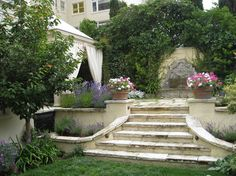 Old World Garden traditional landscape