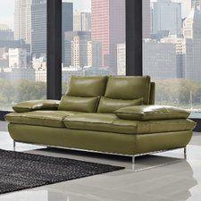 Naomi Leather Sofa