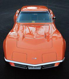 1971 Corvette Stingray, mine is yellow